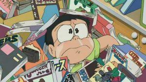 Doraemon death different nobita