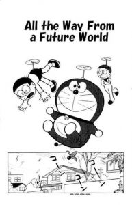 All the way from future doraemon