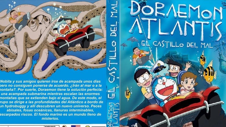 Doraemon Nobita and the Castle of the Undersea Devil cover