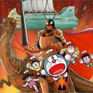 Doraemon Nobita and the Knights on Dinosaurs